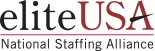 elite usa logo: national staffing alliance